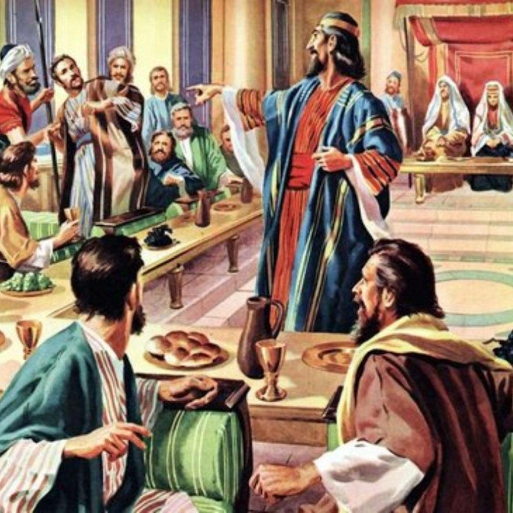 Como entraste aqui sem o traje de festa? (Homilia.74: 28 ...